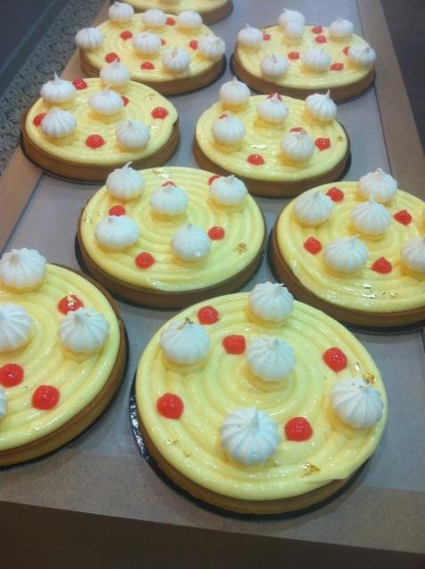 Le parfum de la pâtisserie du 17 mars: Tarte au citron