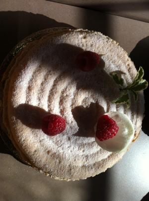 La pâtisserie du samedi 14 juillet