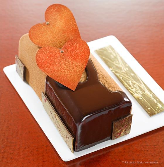 Passionnément ! Le gâteau de la Saint Valentin par Nicolas Bernardé