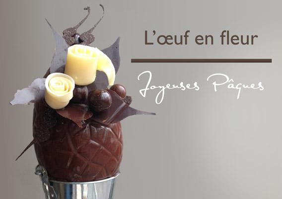 L'œuf en fleur - Pâques chez Nicolas Bernardé