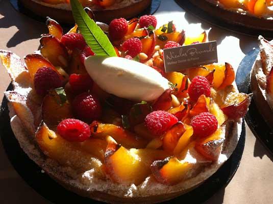 La tarte aux pêches sera le délice de la Pâtisserie du Samedi (20 juillet 2013)