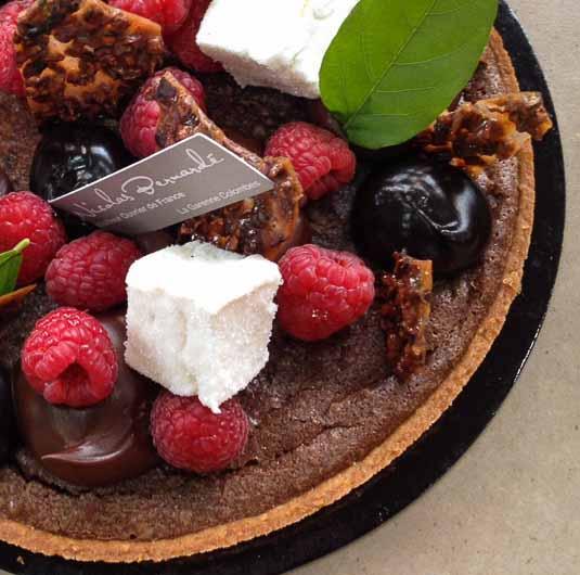 Vous régaler d'une tarte totalement chocolat