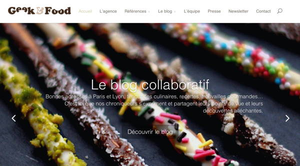 Geek and food, le blog culinaire des foodingues innovants