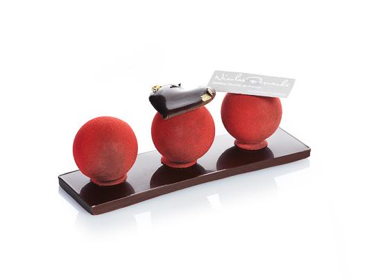 SAINT-VALENTIN: Le Trio d'Amour à croquer