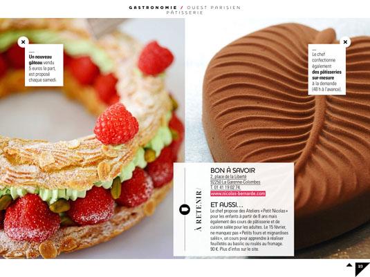 Paris-Brest aux pistaches et fruits rouges ou effeuillage chocolat pour le jour de l'an