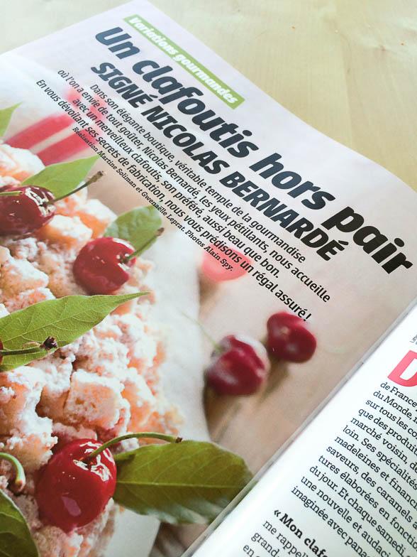 RECETTE Mon Clafoutis hors-pair — Cuisine Actuelle «Pâtisserie» – Été 2014 N° 6