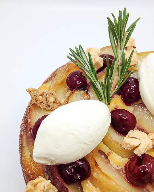 Délectez-vous d'une tarte aux nectarines
