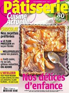 Couverture Cuisine Actuelle Pâtisserie numéro 7
