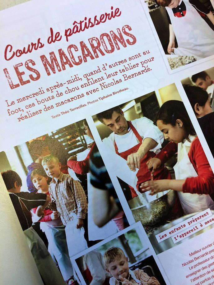 Cours de Pâtisserie: les macarons - Cuisine d'Ici N°3