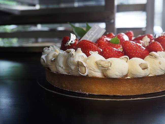 Fabuleuse tarte aux fraises