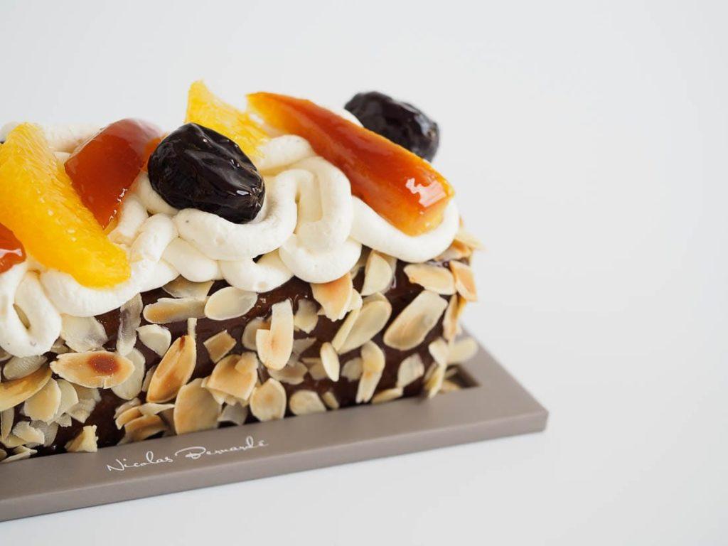 Gâteau de voyage pruneau orange