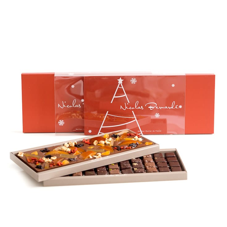 Boite Chocolat Duo Noël