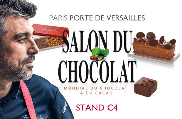 Rejoignez-nous au Salon du Chocolat (23e édition)