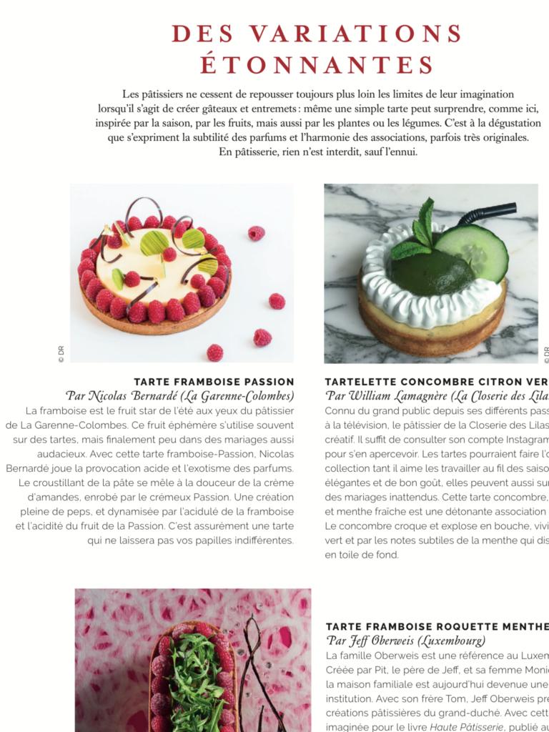 Tarte au yaourt revue par Nicolas Bernardé