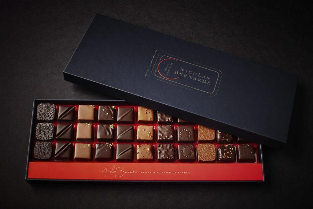 Chocolats boite cadeaux