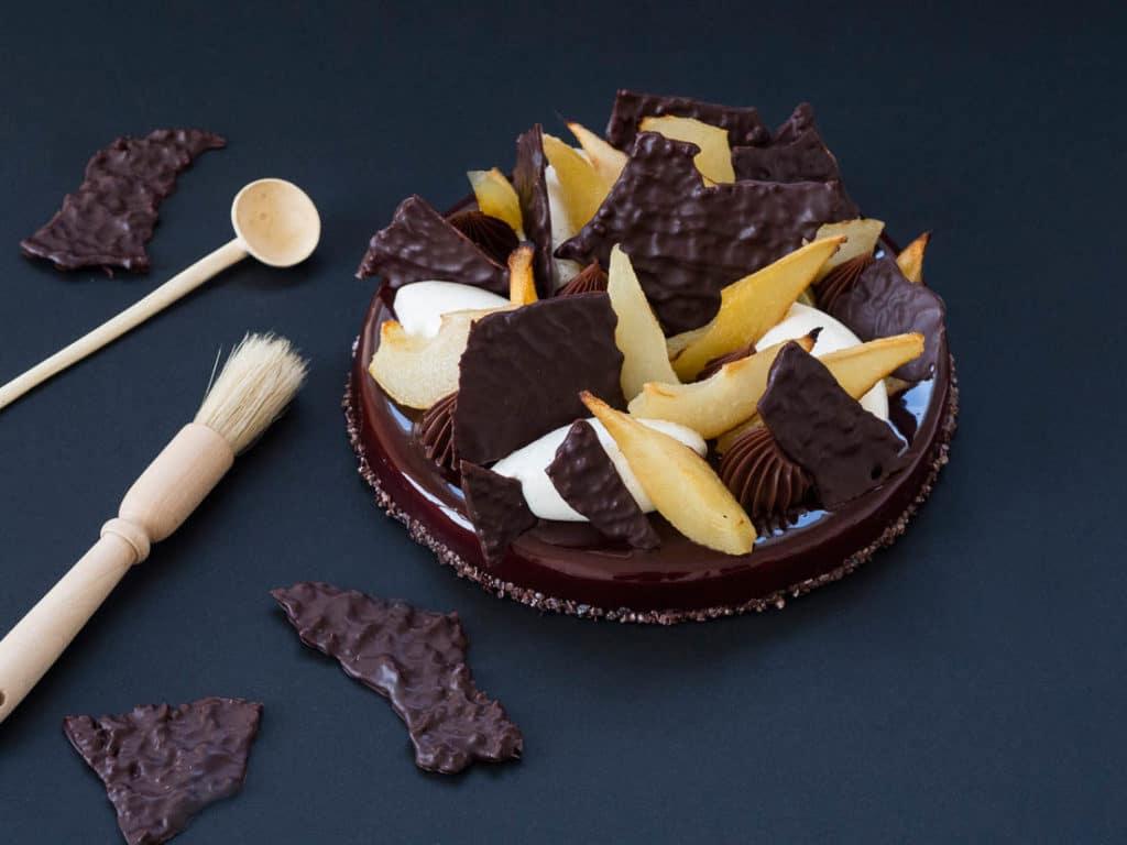 Foudre Olympienne poire & chocolat : le dessert des Dieux