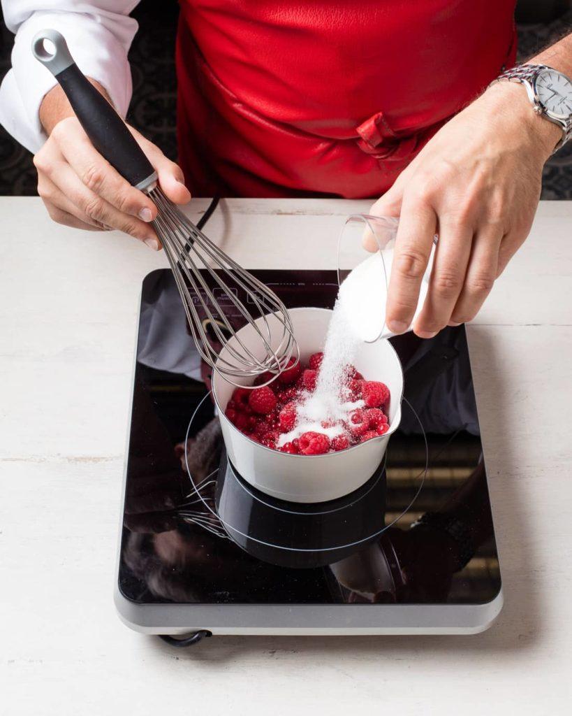 Etape 2 recette cake melba