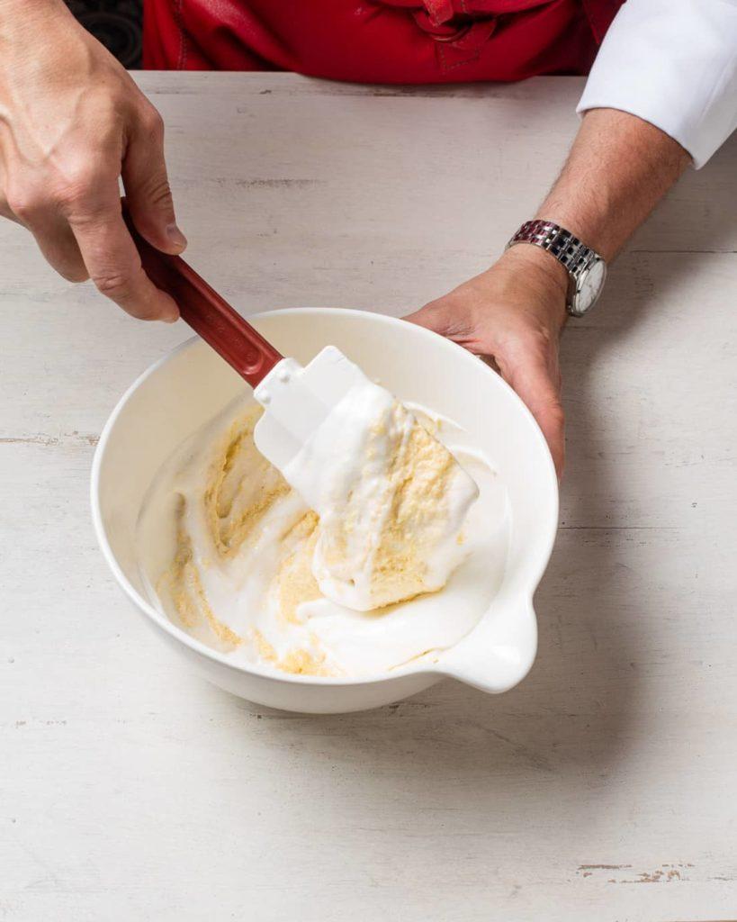 Etape 5 recette cake melba