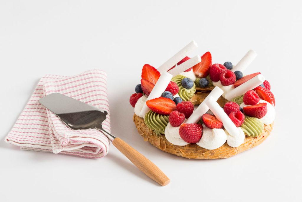 Dédale pistaché : la quête aux fruits rouges