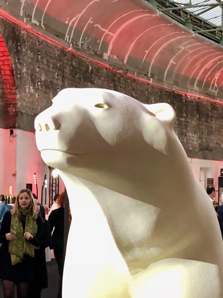 200 kg de Pompon : histoire d'une sculpture pour le Salon du Chocolat