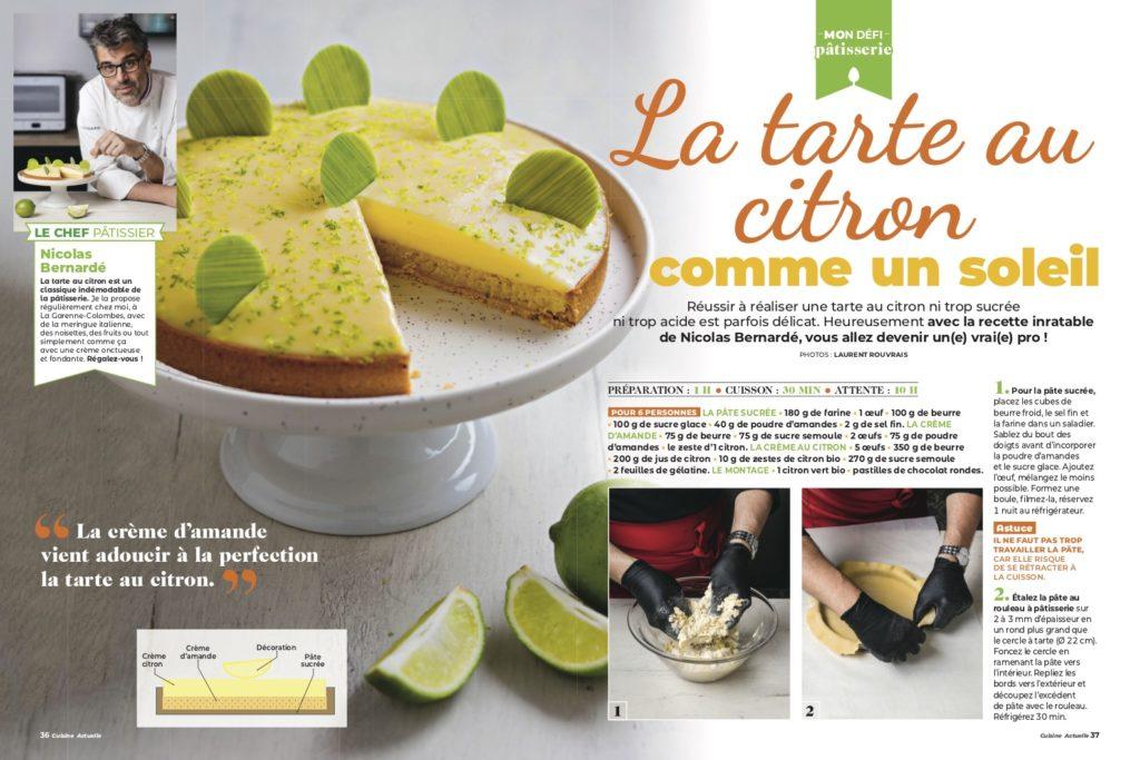 Mon défi pâtisserie : Tarte au citron