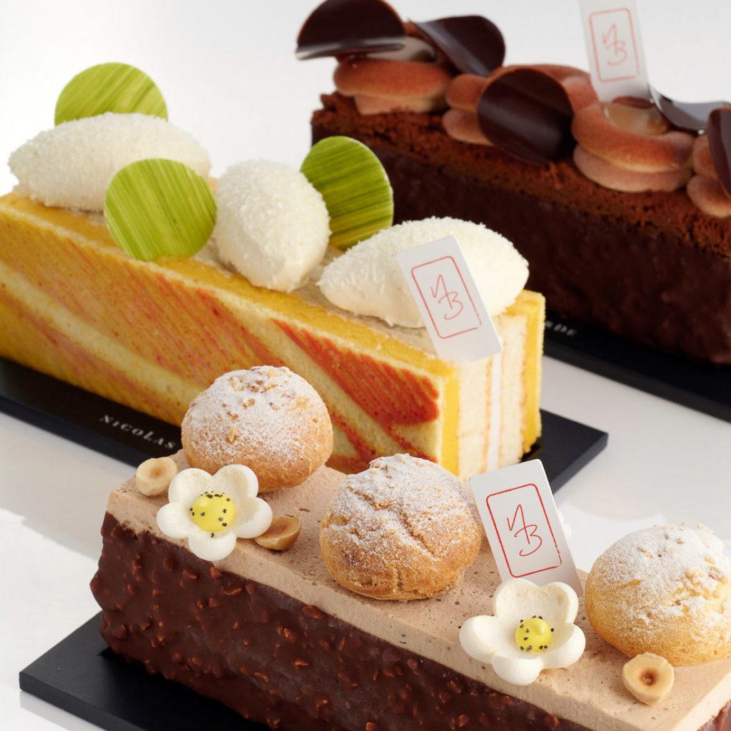 3 cakes glacés, 3 escales paradisiaques !