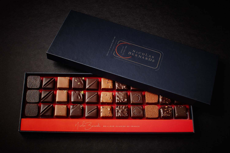 Boites chocolats Nicolas Bernardé