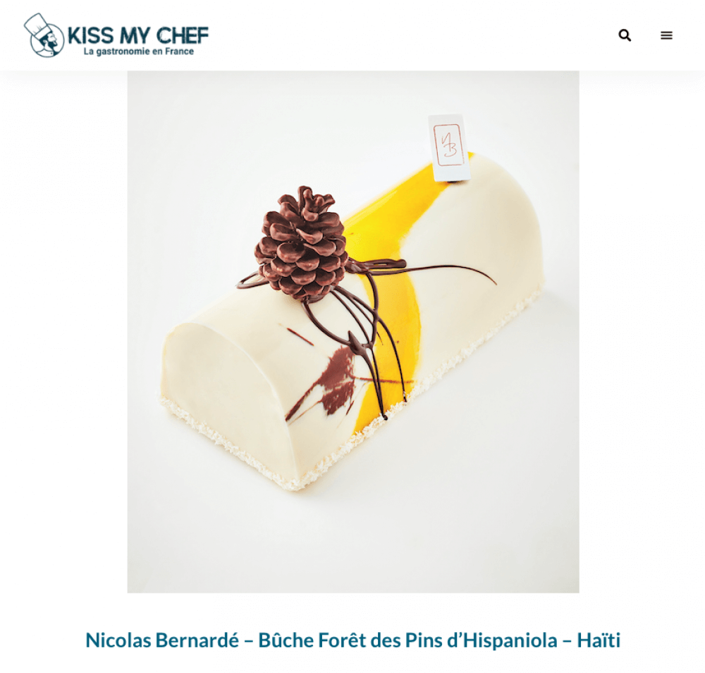 Buche Hispaniola Kissmychef