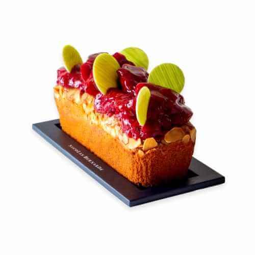 Cake-amande-framboise