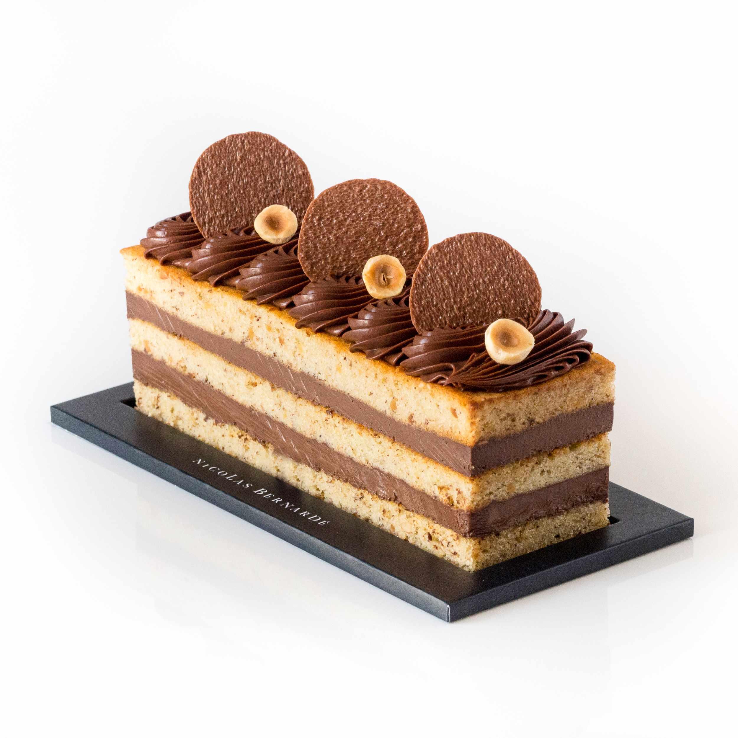 cake café chocolat noisette étages-5