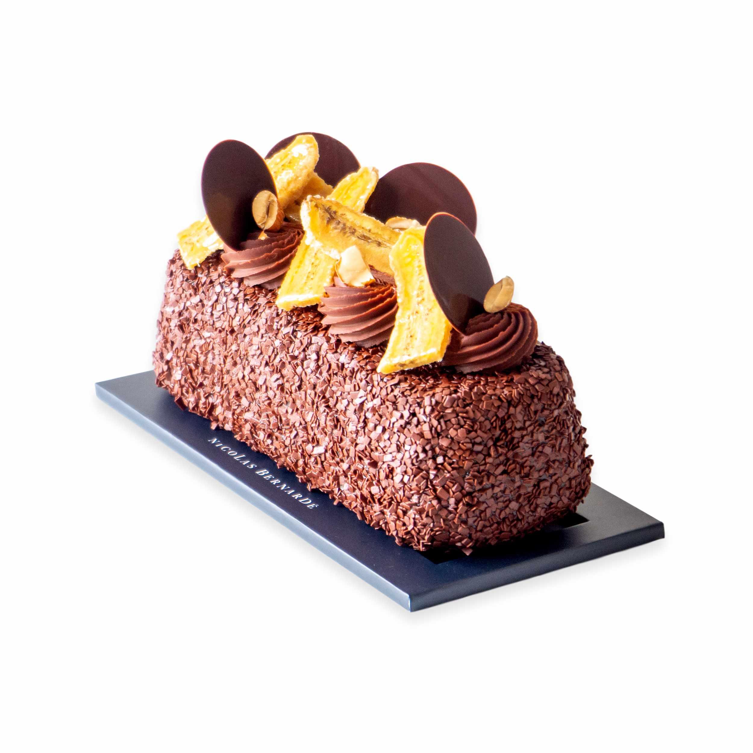 Cake-chocolat-banane