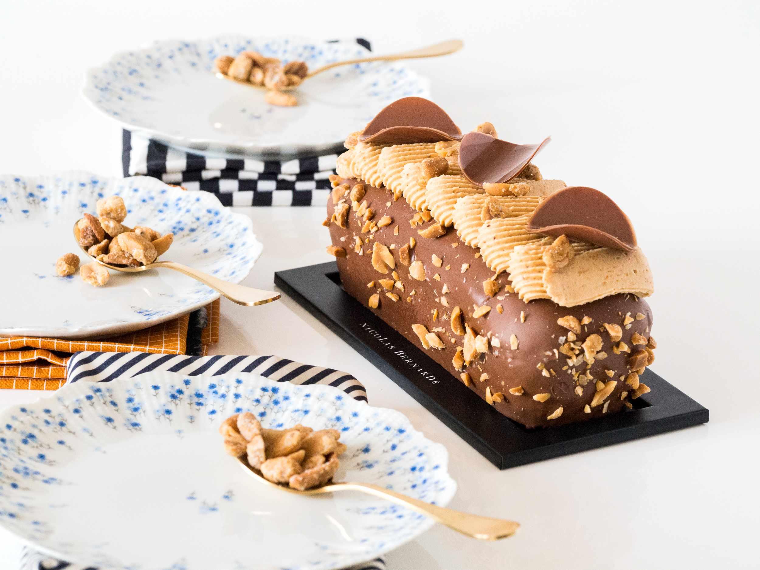 Cake chocolat et cacahuète