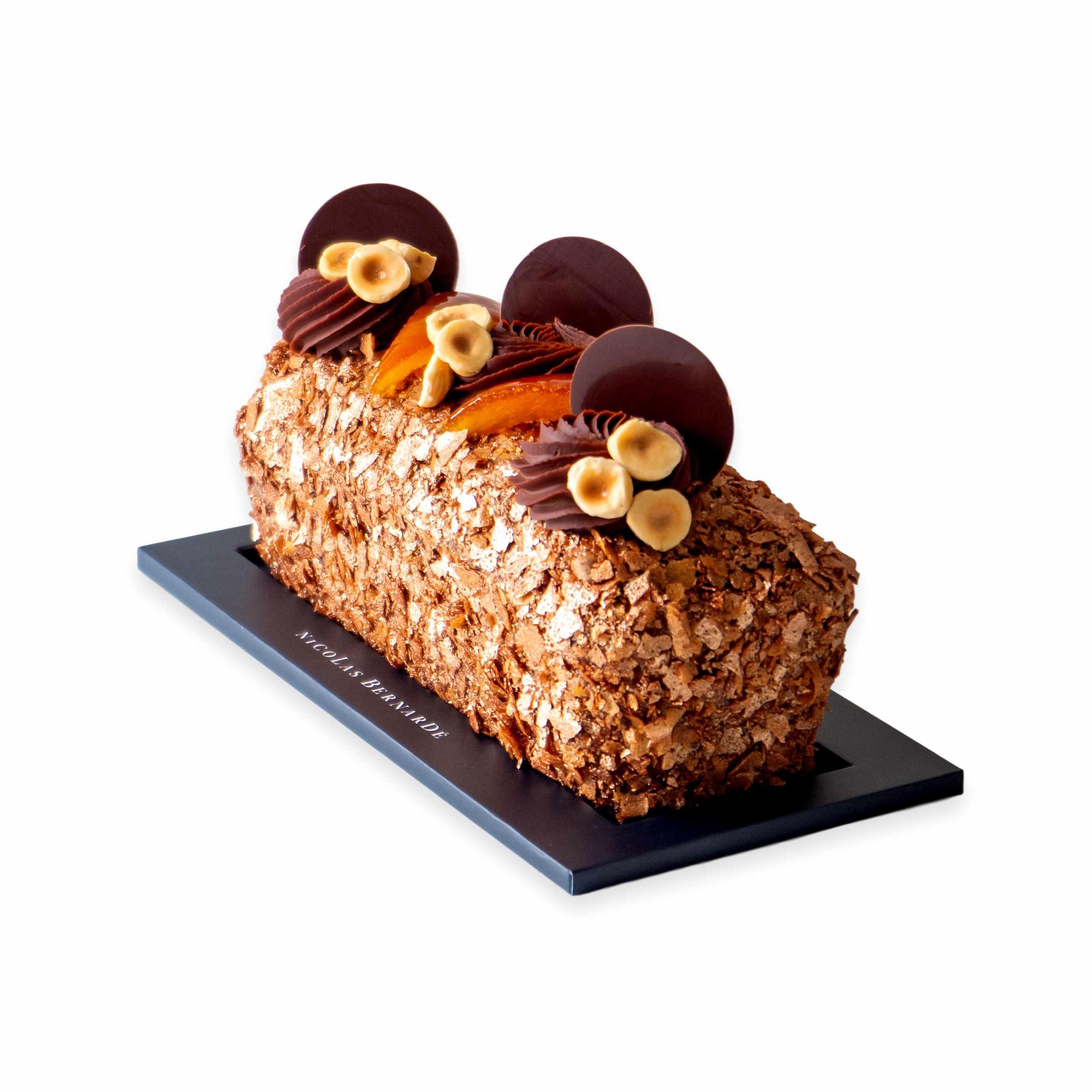 Cake-chocolat-orange-noisette