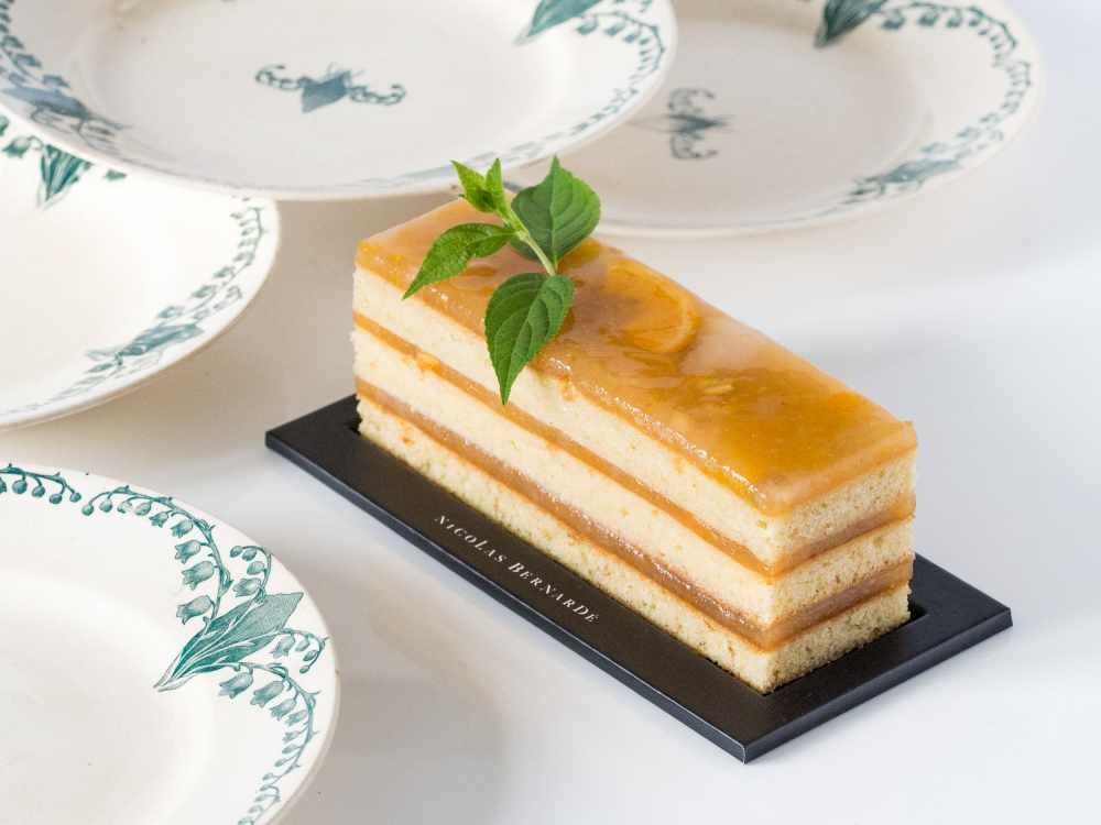 cake citron et menthe
