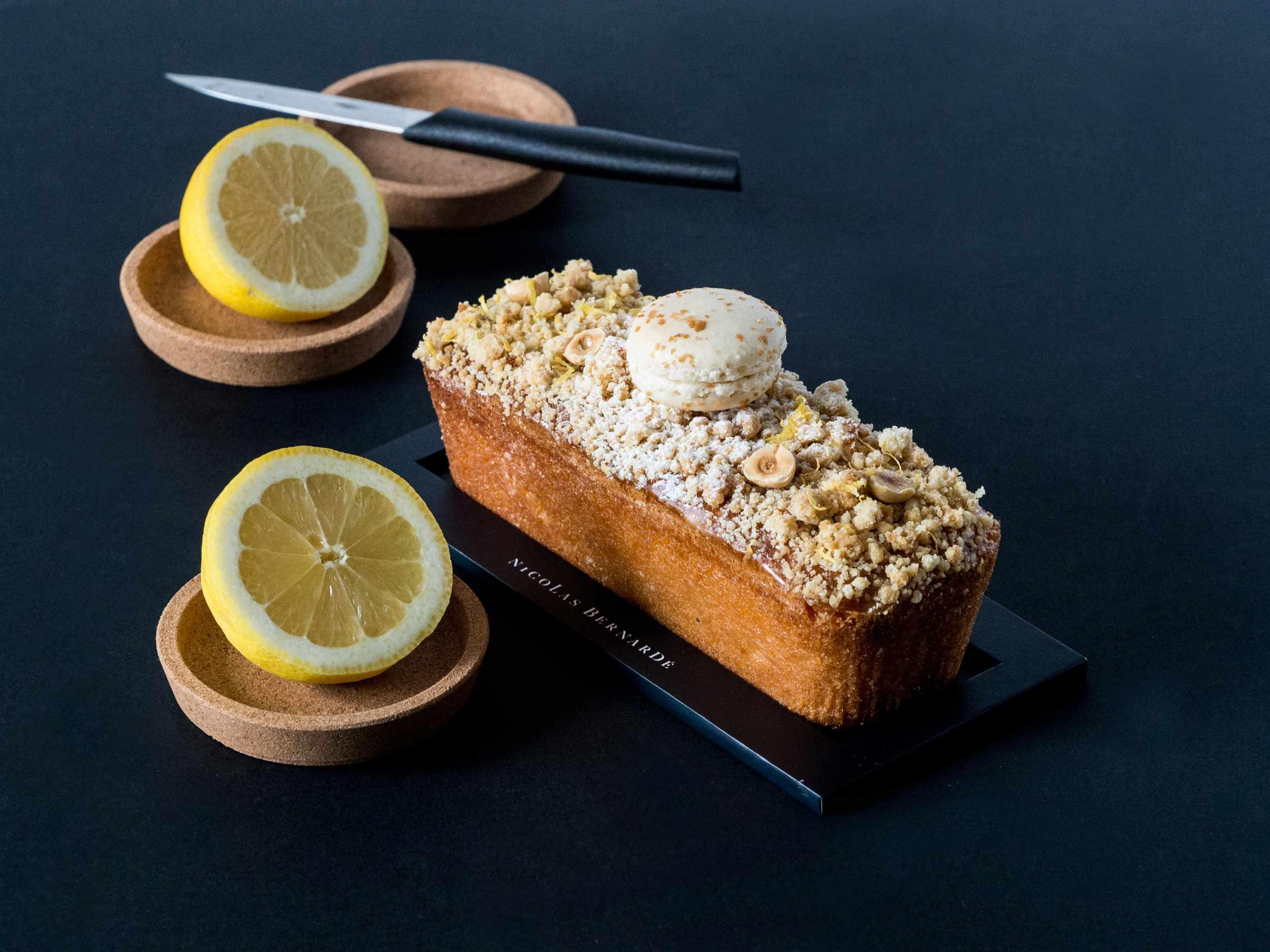 cake crumble citron noisette -3776