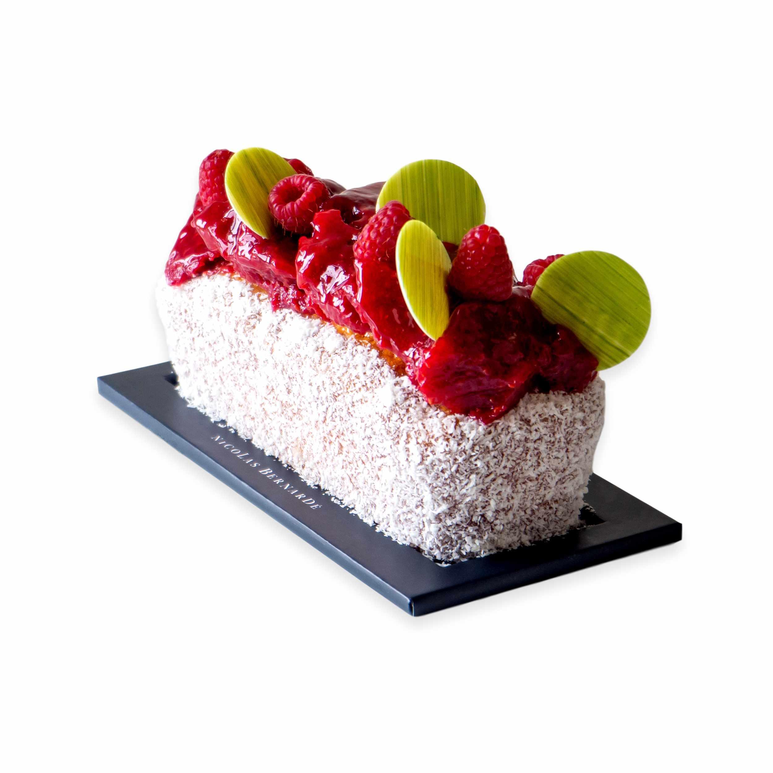 Cake-framboise-coco
