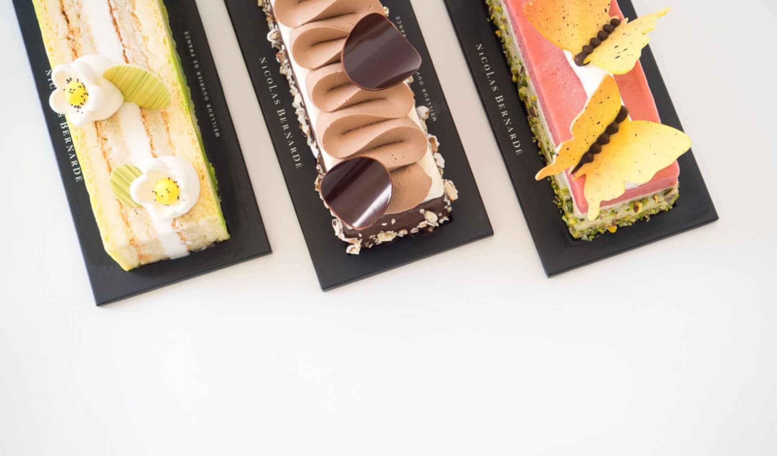 Cake-glacé