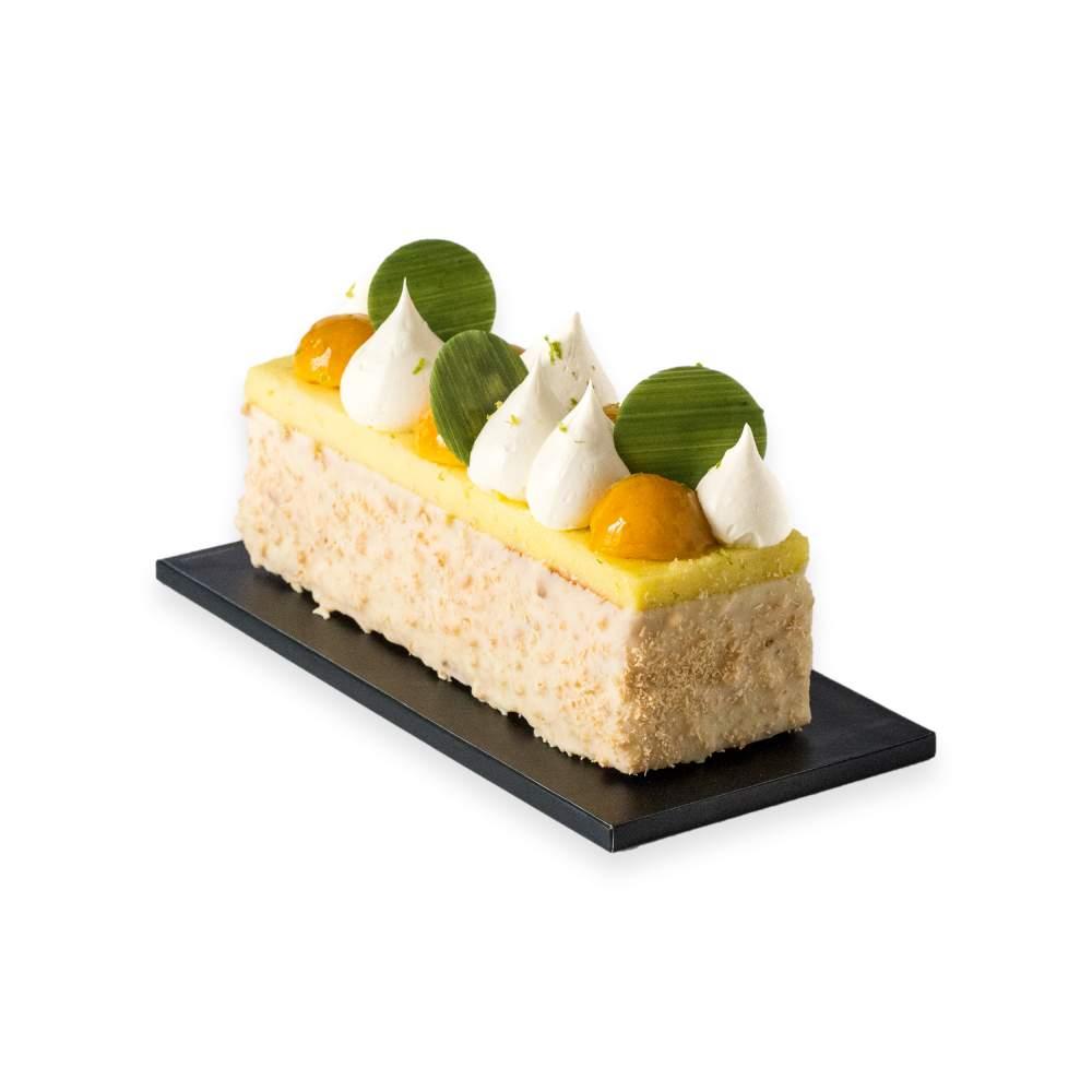 Cake Glacé Ananas, citron vert