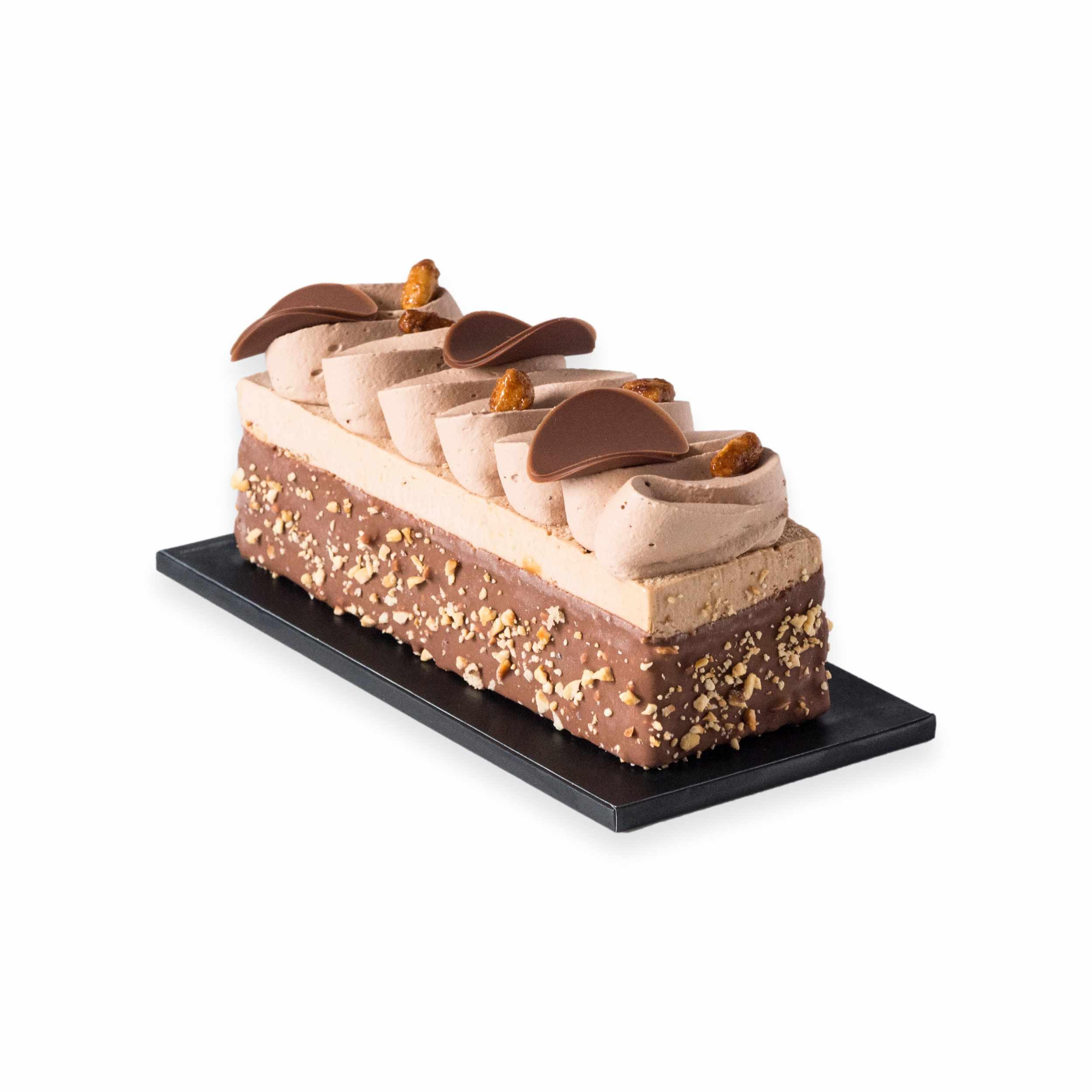 Cake glacé Cacahuètes