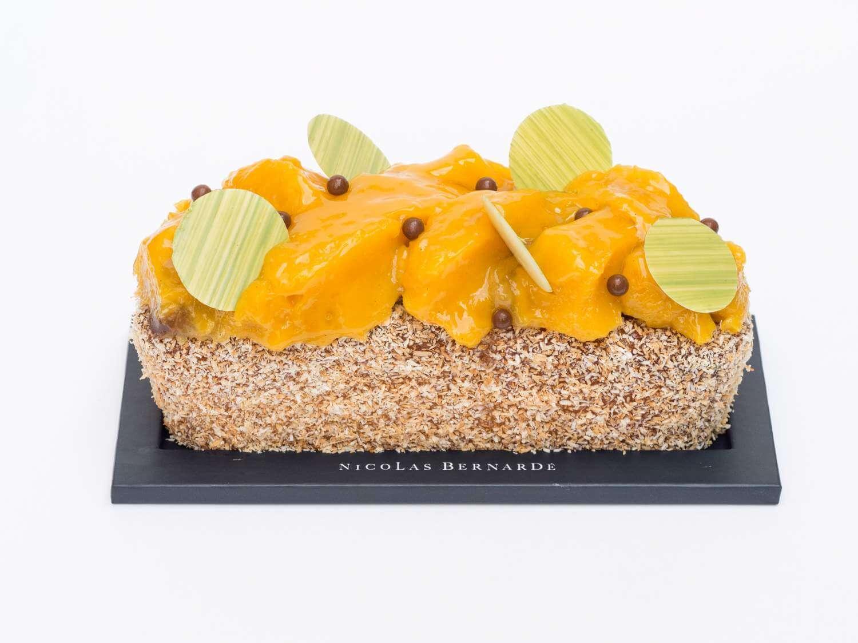 Cake mangue-coco-passion-head