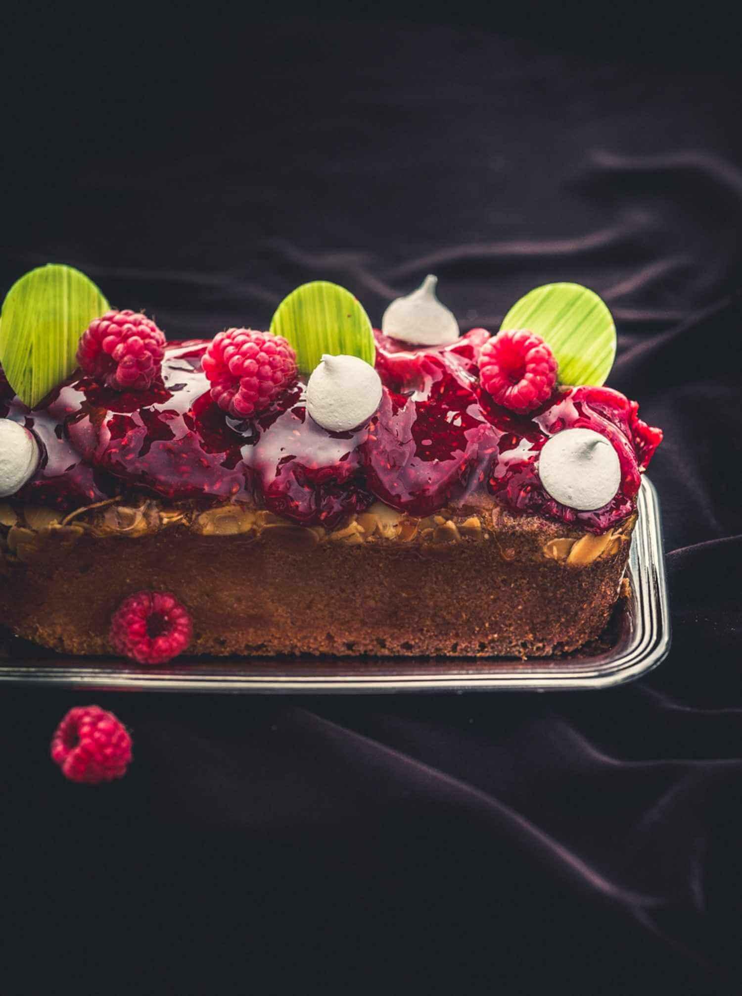 cake-Plume-framboise