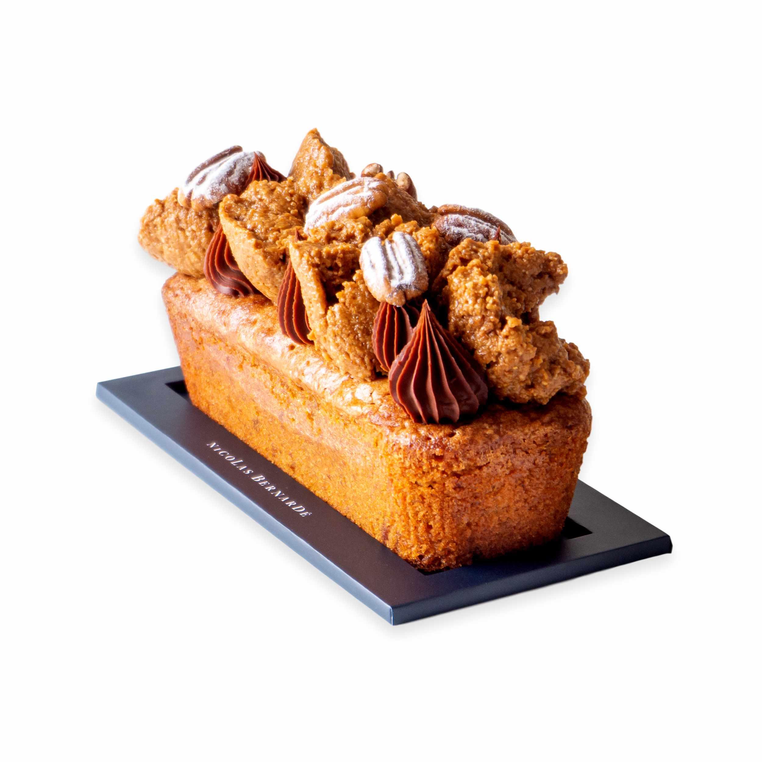 Cake-tout-croustillant-praline-pecan