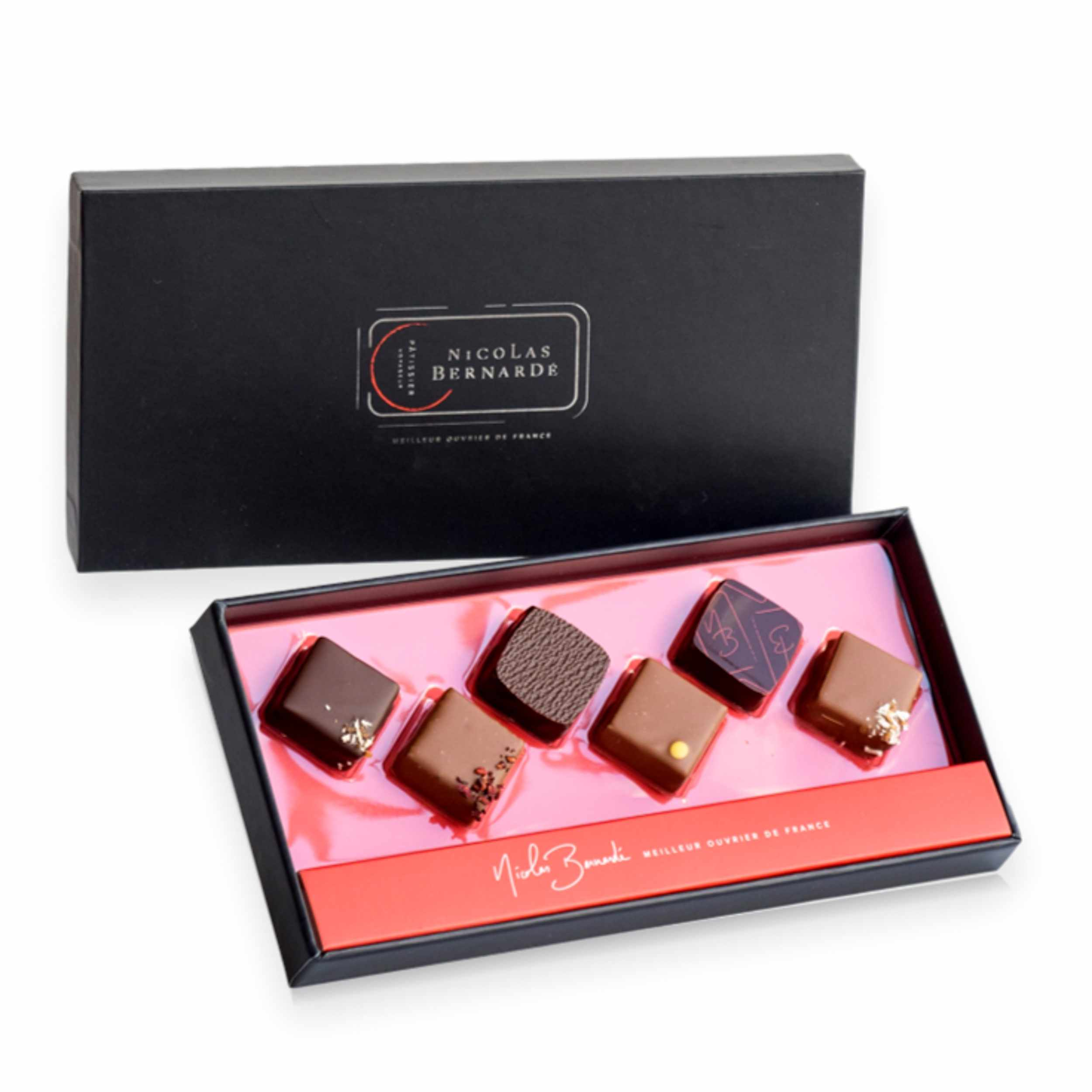 Coffret chocolat x6