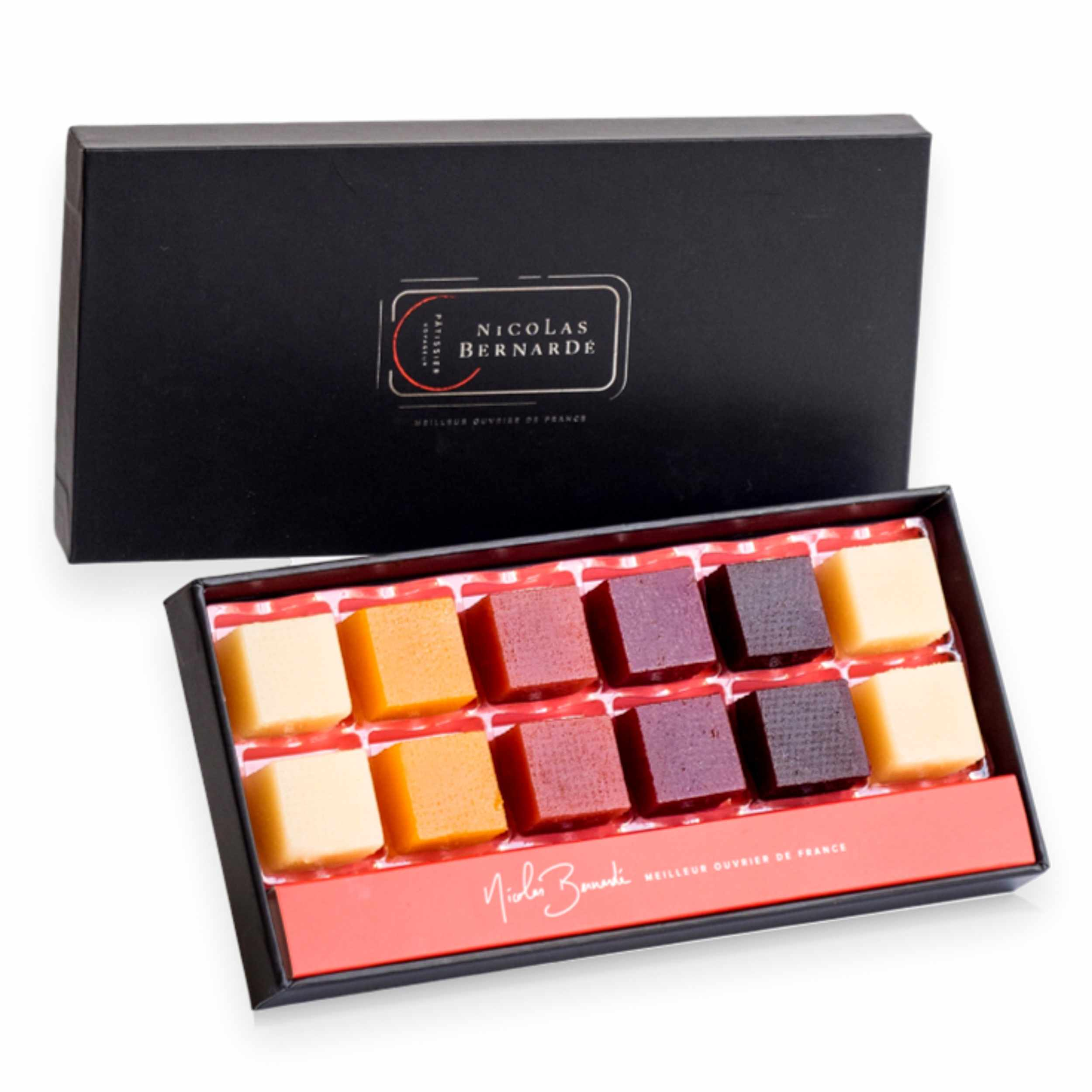 Coffret pate de fruits x12