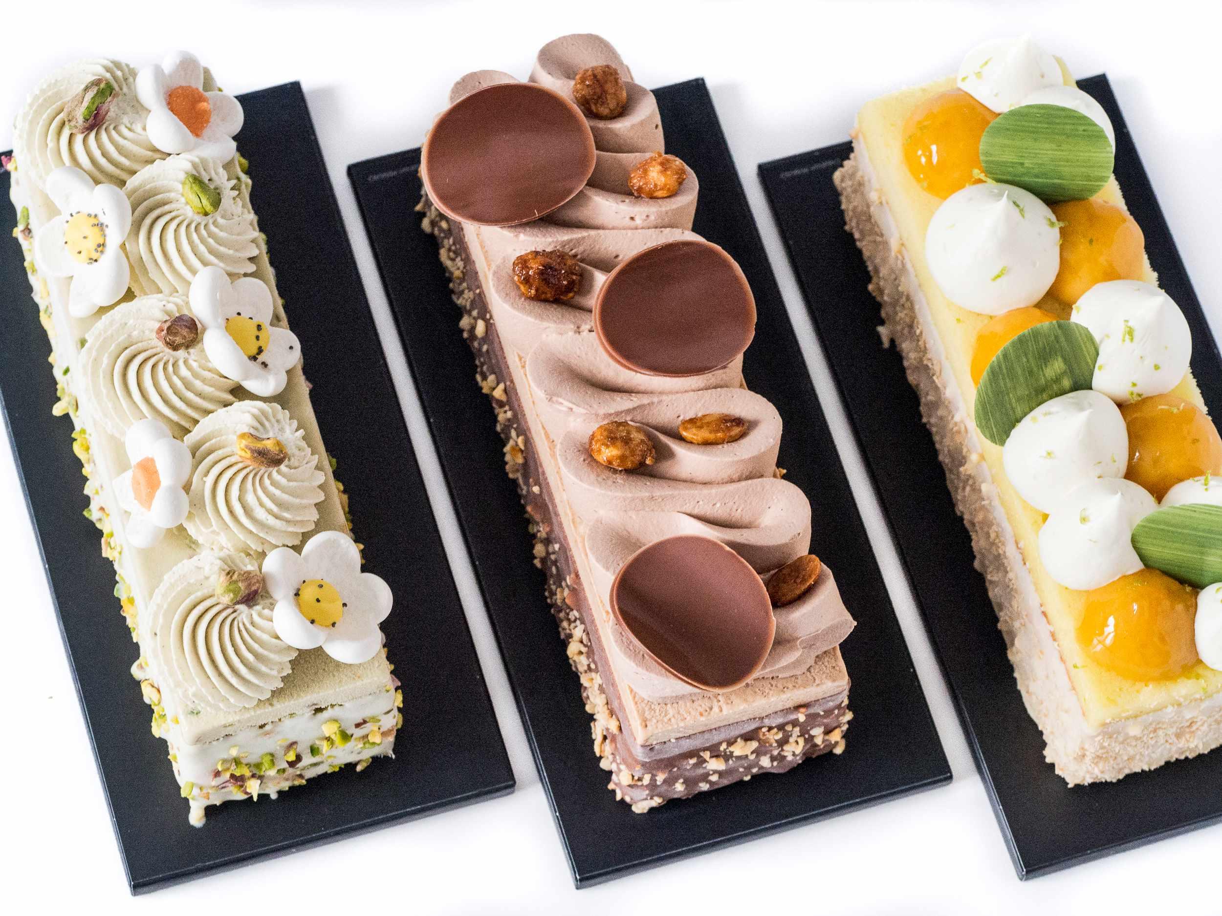 Collection de Cakes glacés d'été