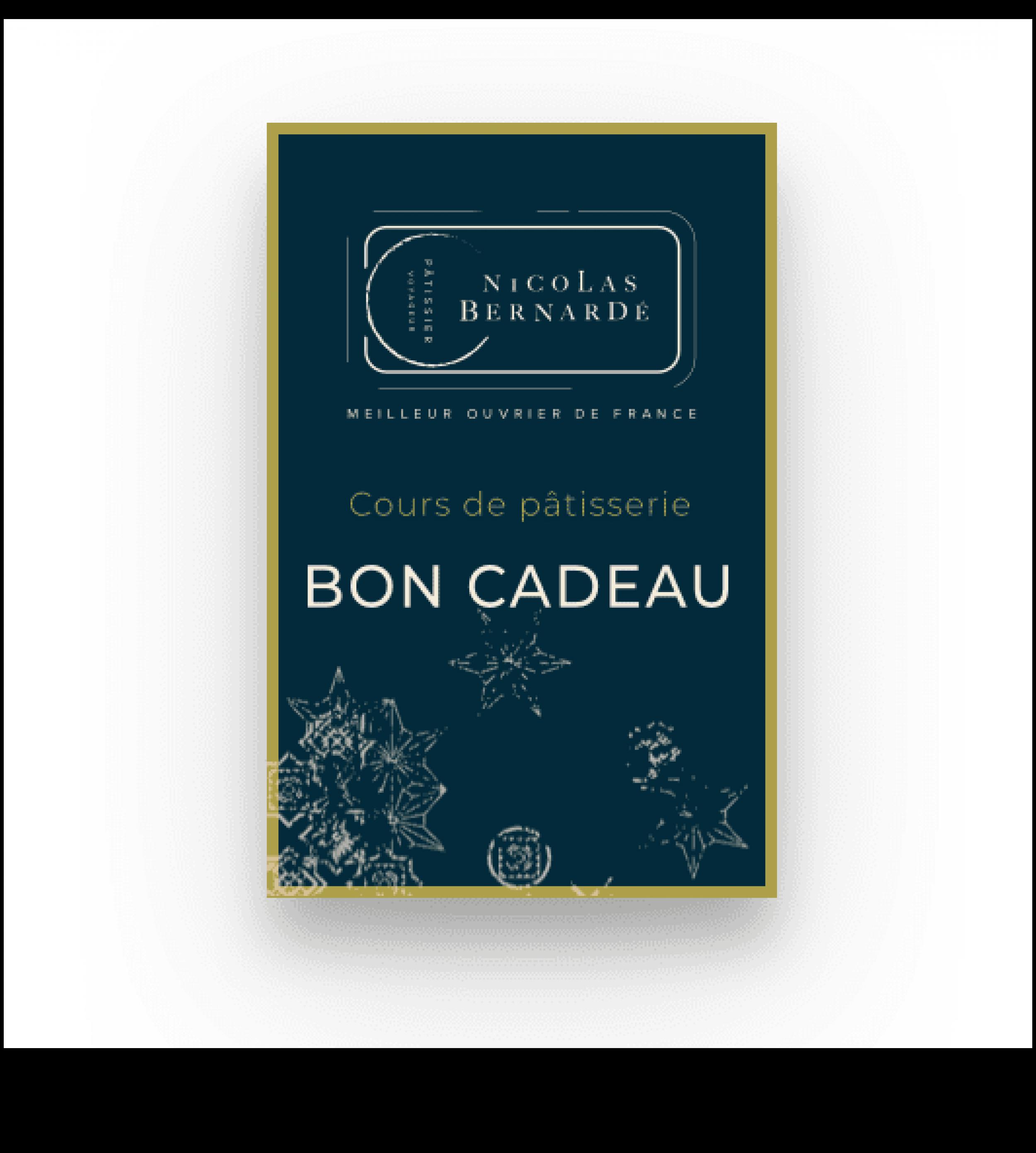 CoursPatisserie BON CADEAU