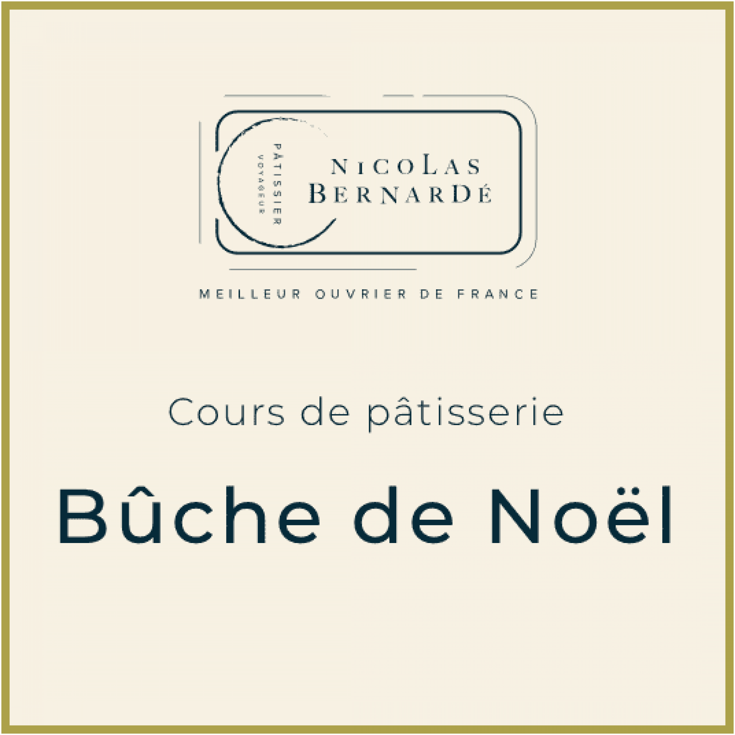 CoursPatisserie BucheNoel