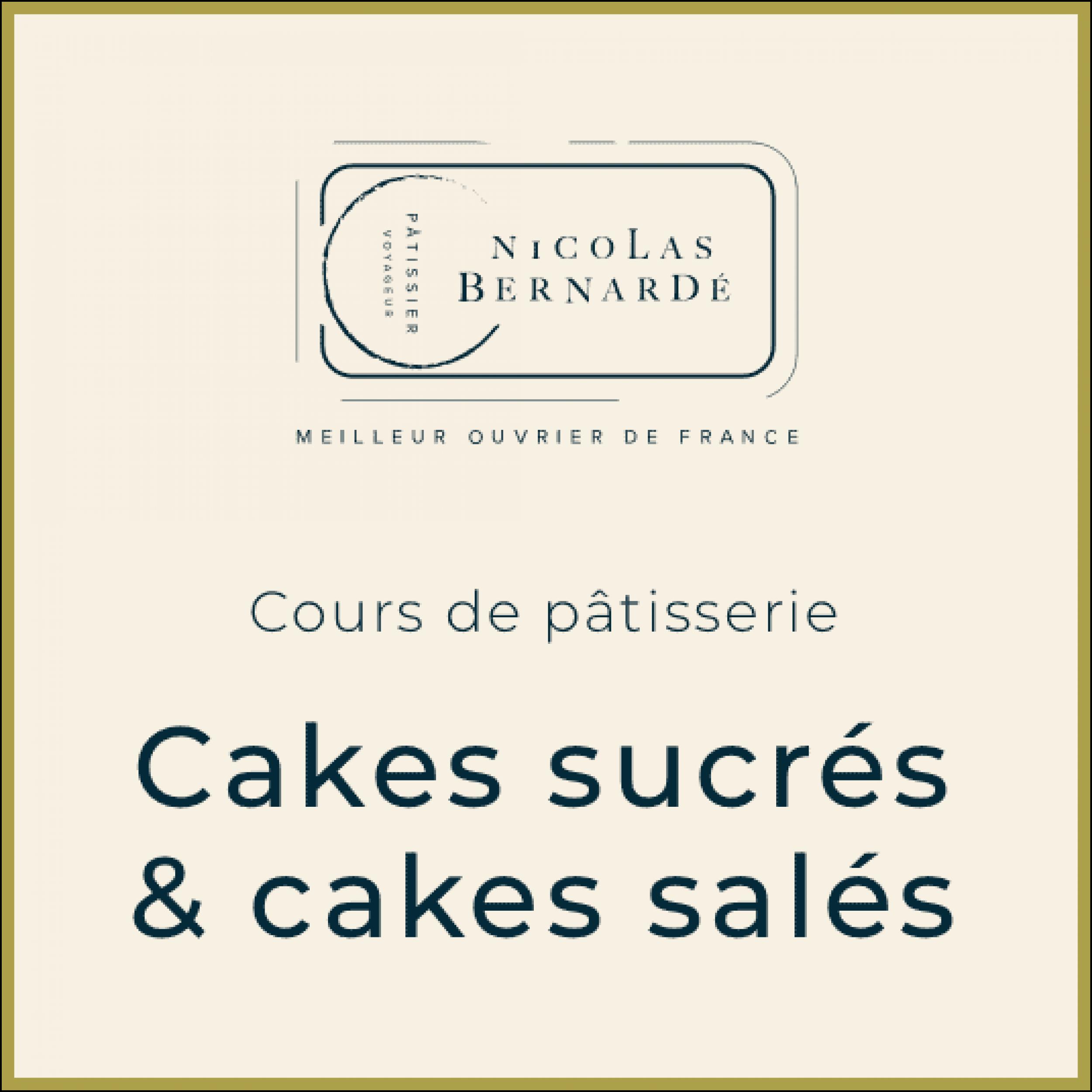 CoursPatisserie CakesSucreSales