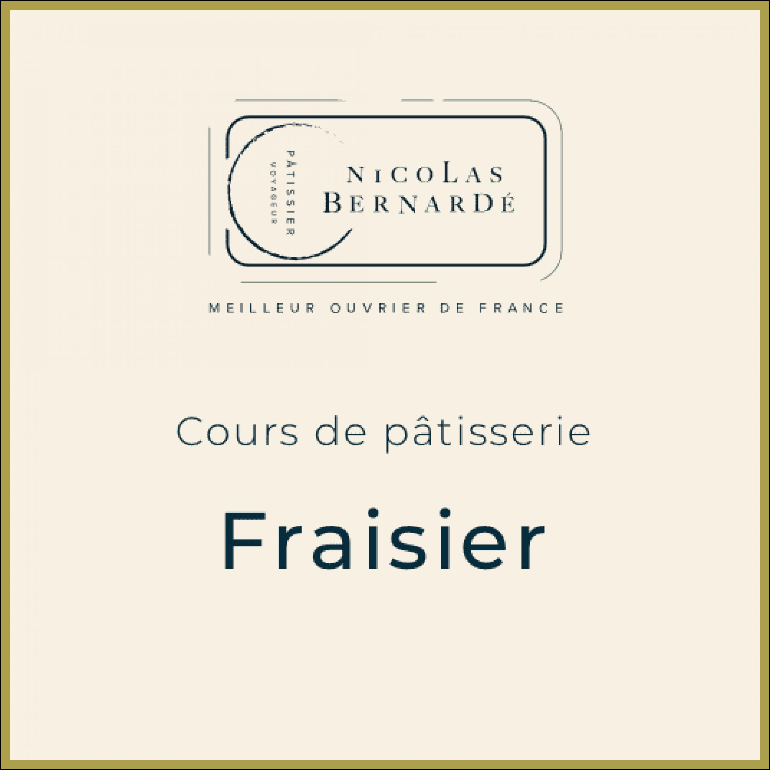CoursPatisserie Fraisier