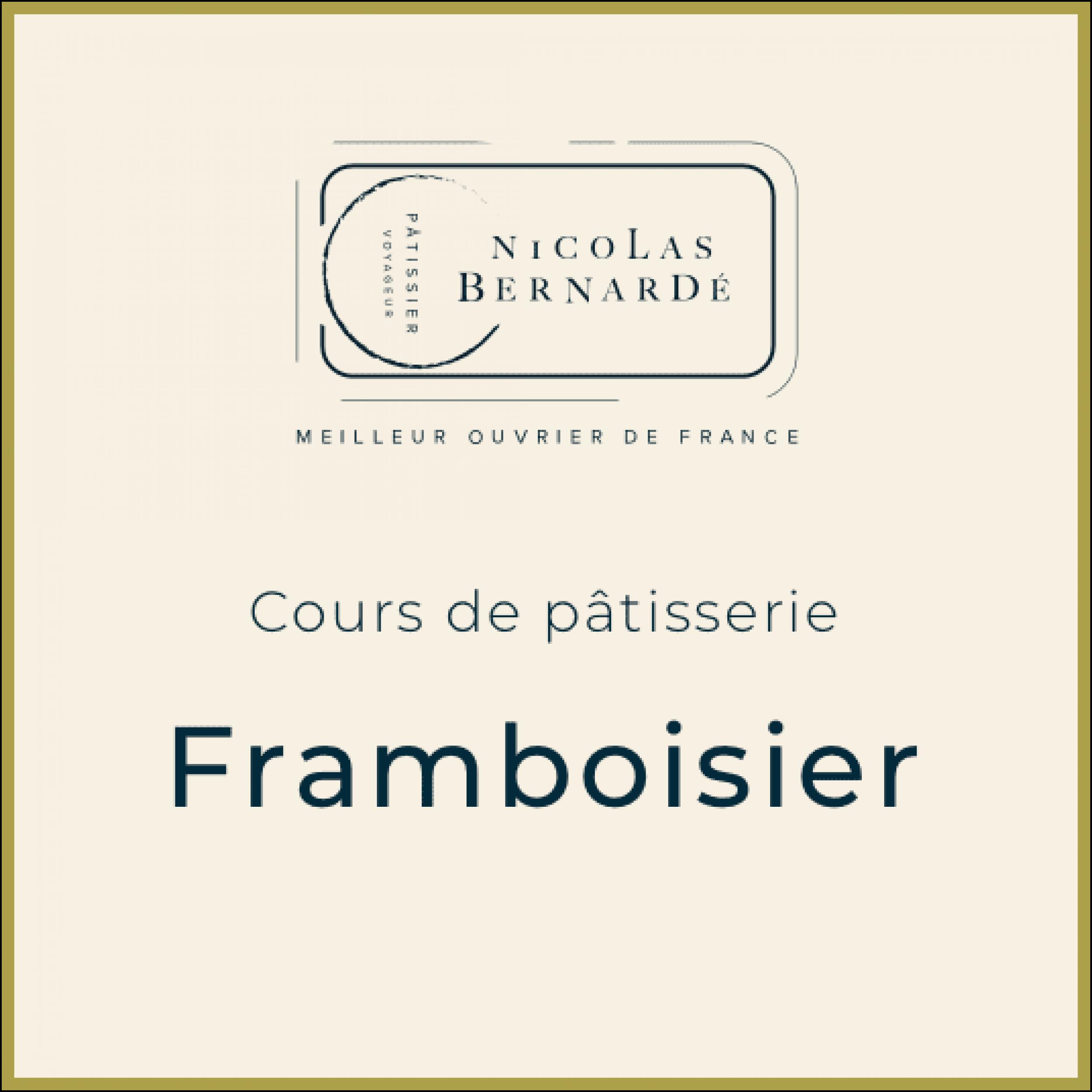 CoursPatisserie Framboisier